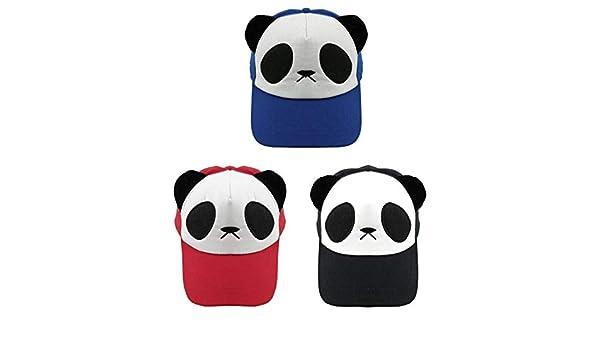 Cotton Panda Cotton Cute Panda Gorras Ojos Sombrero Béisbol De ...