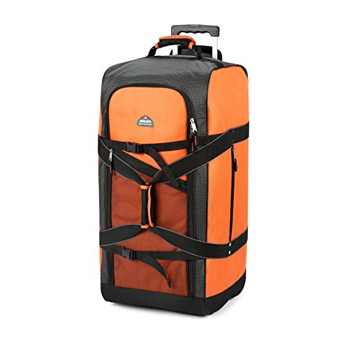 (Ben & Jonah PrimeHome Collection Polaris 30in Mega Wheeled Duffel Bag-Orange )