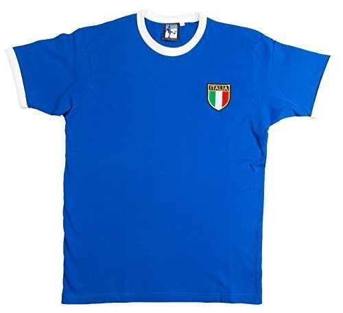 Fussball Retro Italy Italia Football T Shirt New Sizes S Xxxl