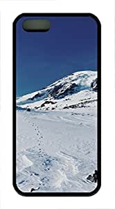 Lmf DIY phone caseiPhone 5 5S Case landscapes nature snow mountain 17 TPU Custom iPhone 5 5S Case Cover BlackLmf DIY phone case