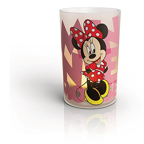 Philips Disney Children's LED Flameless USB Chargeable Candle (Minnie Mouse) (7 Dwarfs Halloween Costume)