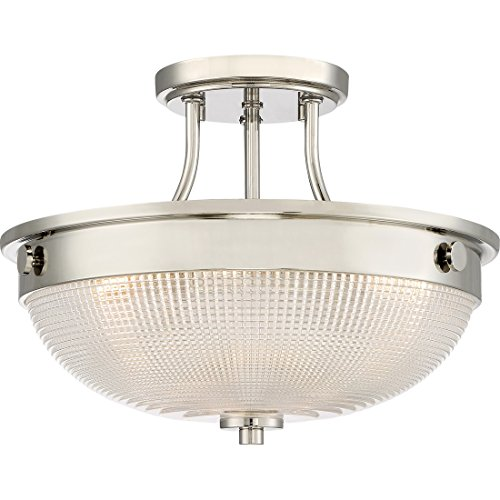 Semi-Flush Mount - Quoizel QF3631PK