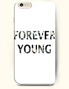 iPhone Case,OOFIT iPhone 6 (4.7) Hard Case **NEW** Case with the Design of forever young - Case for Apple iPhone iPhone 6 (4.7) (2014) Verizon, AT&T Sprint, T-mobile