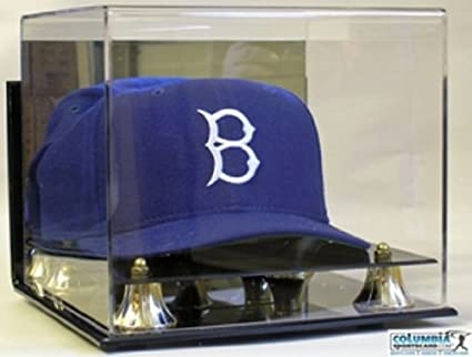 06005f6c863 Image Unavailable. Image not available for. Color  DELUXE WALL MOUNT ACRYLIC  HAT - CAP DISPLAY CASE HOLDER