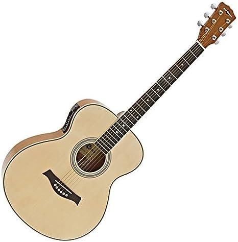 Guitarra Electroacustica de Concierto de Gear4music Natural