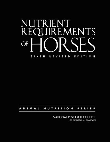Nutrient Requirements of Horses: Sixth Revised Edition (Nutrient Requirements of Animals)