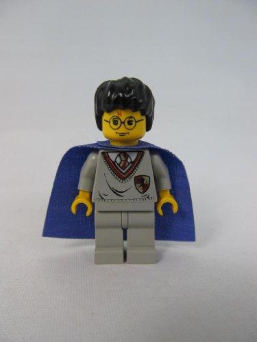Lego Harry Potter Minifigure with Gryffindor Sweater & Purple Cape