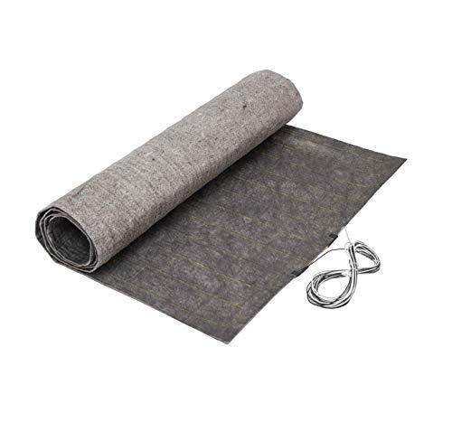 Hardwood and Laminate Floor Heating Mat System, 120V, 18 Sqft, 3 ft x 6 ft