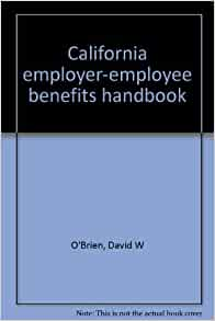 sample employee handbook california