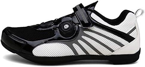 GOMNEAR Chaussures de v/élo Biking Mountain Baskets Respirantes avec Panneaux de Maille