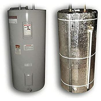 HOT WATER TANK HEATER INSULATION JACKET DIY 'PREMIUM' KIT :ENERGY SAVING REFLECTIVE FOIL FITS 40 GALLON/180 LITRES. MANUFACTURER OF THIS KIT FOR 27 YEARS. EXCLUSIVELY SOLD BY 'JR GLOBAL SALES' ONLY
