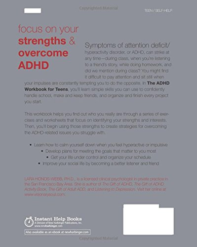The ADHD Workbook for Teens: Activities to Help You Gain ...