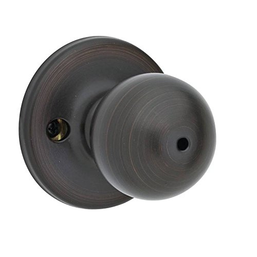 Kwikset 93001-541 Polo Privacy Bed/Bath Knob in Venetian Bronze (Venetian Bronze Kwikset Polo)