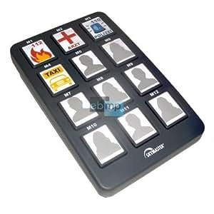 XXL-teléfono fijo-teléfono-marcador de teléfono con teclas grandes para personas + niños, nuevo