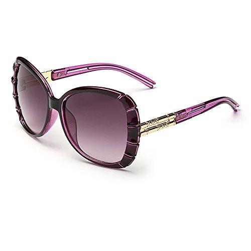 Smileyes Damen Fashion Sonnenbrillen UV400 Retro Vintage Style Unisex #TSGL012 (Braun) bN3F0Qvk