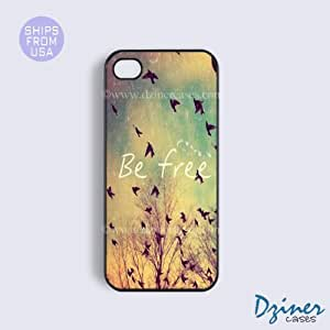 iPhone 6 Plus Tough Case - 5.5 inch model - Vintage Be Free iPhone Cover