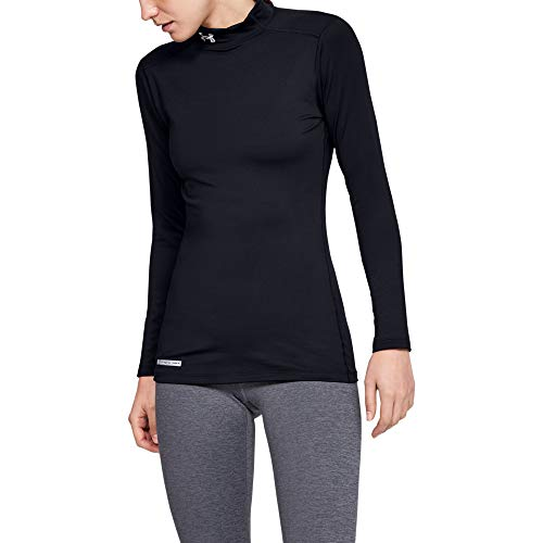 Under Armour Women's ColdGear Authentics Compression Mock