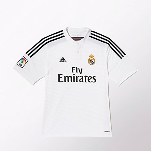 (Adidas Real Madrid Home Jersey [WHITE/BLACK/BLAPNK])