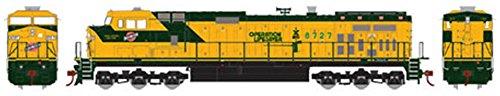 Athearn - HO RTR Dash 9-44CW, C&NW #8727 - Dash 9 Diesel Locomotive