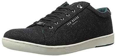 Ted Baker Men's Minem Sneaker, Black, 11.5 M US