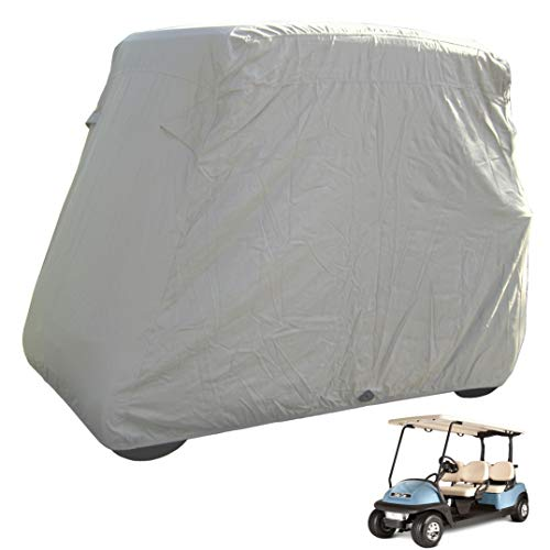 Deluxe 4 Passenger Golf Cart Cover roof 80 L Taupe, fits E Z GO, Club Car and Yamaha G Model