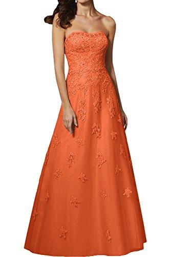 Promkleider Orange Spitze La Marie Linie Abendkleider Festlichkleider Braut Rock Lawender Brautmutterkleider A Langes ztrYq7tFw