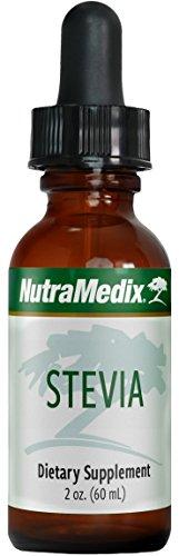 NutraMedix Stevia - Liquid Stevia Whole Leaf Extract Drops (2 oz / 60 ml)