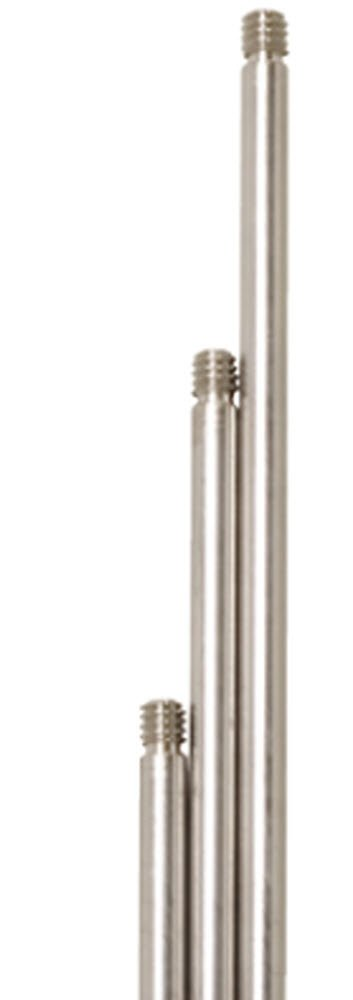 Gems Sensors 3R1C0 316 Stainless Steel General Purpose Probe, 1/4'' NPT Male, 1' Length