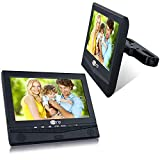 CUTRIP 10.1 Inch Dual Screen Portable DVD Player for Car with Car...