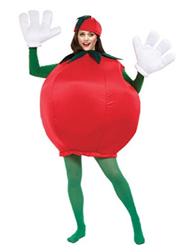 Peter Alan Inc - Tomato Adult Costume - One-Size - Red