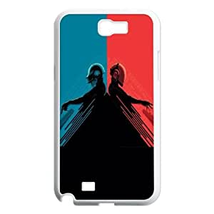 Daft Punk Red and Blue Samsung Galaxy N2 7100 Cell Phone Case White&Phone Accessory STC_176751