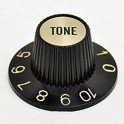 schwarz Goeldo KBSTB Tone-Knopf für Strat