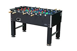View of table soccer board