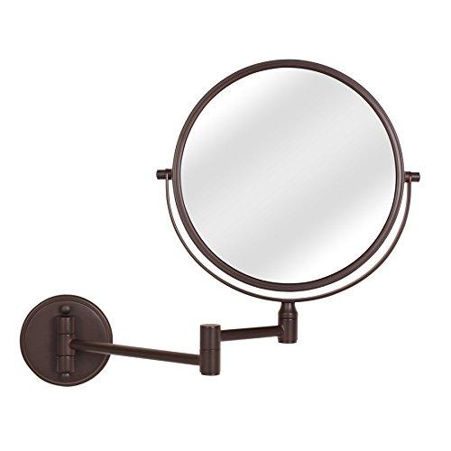 Giagni MM101-ORB Bronze Zinc Magnifying Wall-Mounted Vanity Mirror