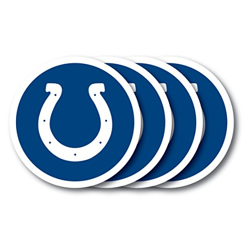 NFL Indianapolis Colts Vinyl Coaster Set (Pack of 4)