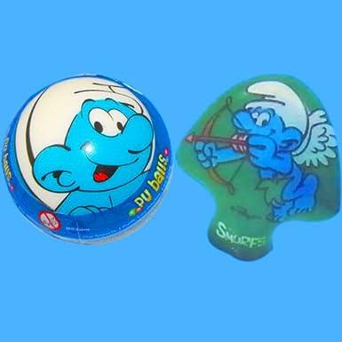 Los Pitufos - pack balón hinchable Pitufo