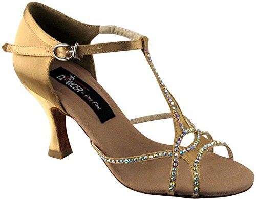 Very Fine Shoes Competitive DancerSeries CD2804 with Crystals 2.5'' or 3'' Heel by Very Fine Shoes