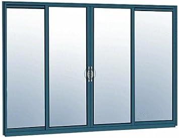 crl-u.s. Aluminio oxxo puerta corredera térmicamente Broken bloque marco sin esmaltar KD Kit con protector de Custom pintado: Amazon.es: Bricolaje y herramientas