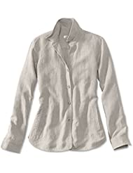Orvis Womens Shoreline Linen Shirt Jacket