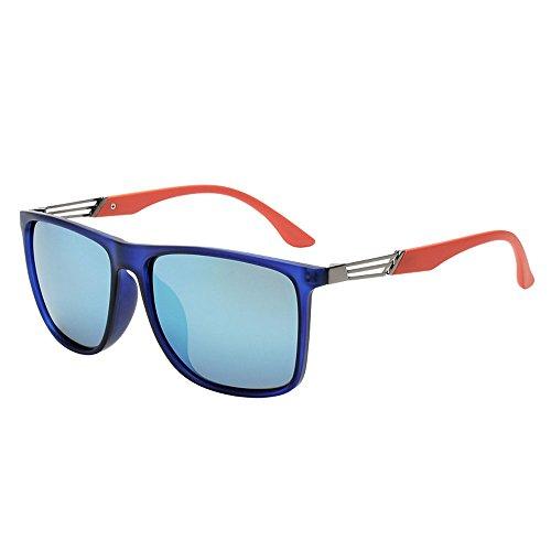 Gafas de Sol Hombre Driver de Driving A Big para Safety A Sol Color Gafas Gafas Mirror ultraligeras Sol Retro Driver de Frame PdqCwP