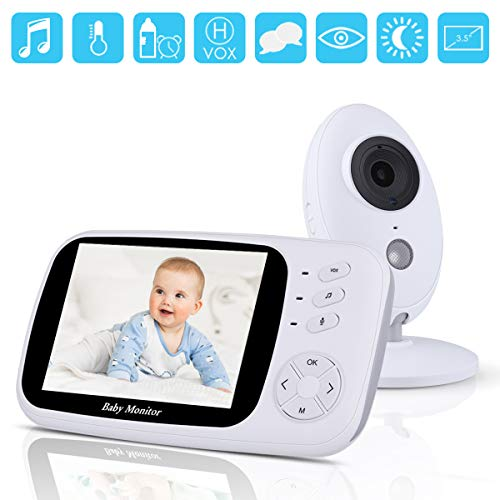 Video Baby Monitor with Camera and Audio,3.5