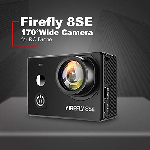 Firefly 8SE 4K 170°Wide Angle WiFi BT FPV HD Waterproof Camera for RC Drone by Wikiwand (Image #3)