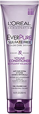 L'Oreal Paris EverPure Sulfate-Free Color Care System Volume Conditioner, 8.5 Fluid Ounce