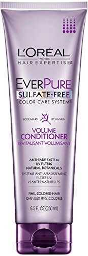 L'Oreal Paris EverPure Sulfate-Free Color Care System Rosemary Volume Conditioner, 8.5 Fluid Ounce