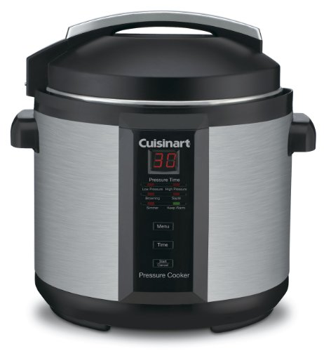 Cuisinart CPC-600 6 Quart 1000 Watt Electric Pressure Cooker (Stainless Steel) (Outlet Timer For Crock Pot compare prices)