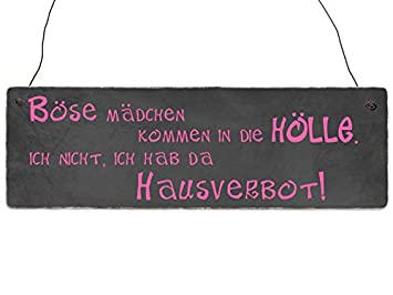 INTERLUXE Holzschild KLINGEL KAPUTT Vintage Shabby Eingangstür Deko Lustig