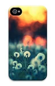dandelion PC Case for iphone 4S/4