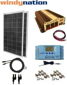 Best Cheap Deal for COMPLETE KIT 200 W Watt 200W Solar Panel + 1500W Inverter 12V RV Boat Off Grid by Genric - Free 2 Day Shipping Available