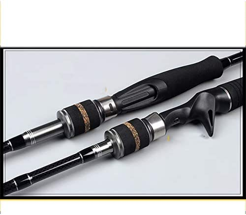 HPYR Caña de Pescar Carrete Combo Caña de Pescar Kit con Caña de ...