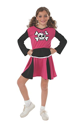 Dance Cheerleader Costumes (Rubies Sensations Pink Cheerleader Costume, Large)